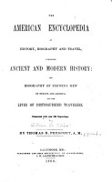 The American Encyclopedia of History  Biography and Travel PDF