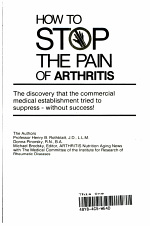 How to Stop the Pain of Arthritis