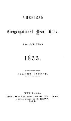 American Congregational Yearbook