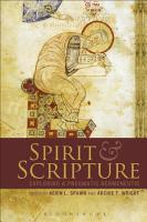 Spirit and Scripture PDF