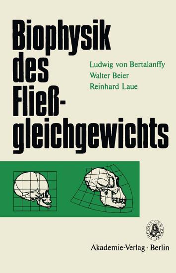 Biophysik des Flie  gleichgewichts PDF