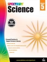 Spectrum Science  Grade 5 PDF