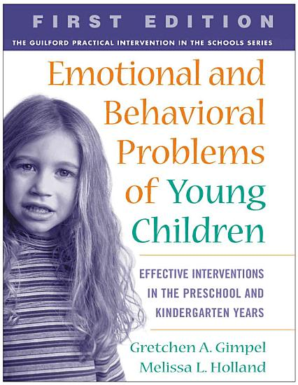 Emotional and Behavioral Problems of Young Children PDF