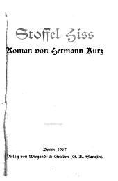 Stoffel Hiss: Roman