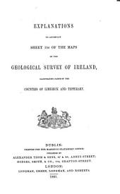 Explanation to Accompany Sheets 1-: Volumes 154-156; Volumes 158-172; Volumes 174-175; Volumes 178-181