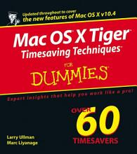 Mac OS X Tiger Timesaving Techniques For Dummies PDF