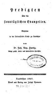 Predigten über die sonntäglichen Evangelien