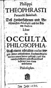 Liber De Occulta Philosophia