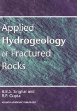 Applied Hydrogeology of Fractured Rocks PDF