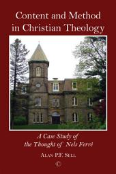 Content and Method in Christian Theology
