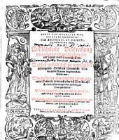 Cervi cum integri et vivi, natura et proprietas, tum excoriati et dissecti, in medicina usus: das ist: Außführliche Beschreibung deß gantzen Lebendigen Hirschens ...