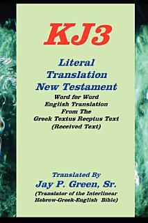 Kj3 Literal Translation New Testament Book