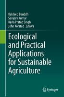 Ecological and Practical Applications for Sustainable Agriculture PDF