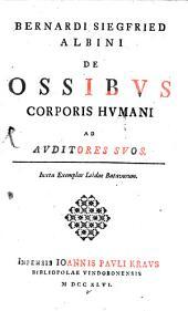 De ossibus corporis humani
