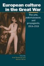 European Culture in the Great War