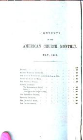 The American Church Monthly PDF