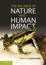 The Balance of Nature and Human Impact PDF