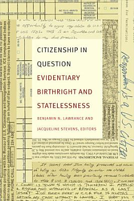 Citizenship in Question PDF