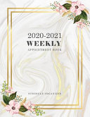 2020-2021 Weekly Appointment Book