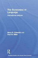 The Economics of Language
