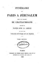 Itinéraire de Paris à Jérusalem: Volume2