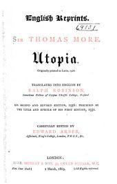 Utopia: Originally Printed in Latin, 1516