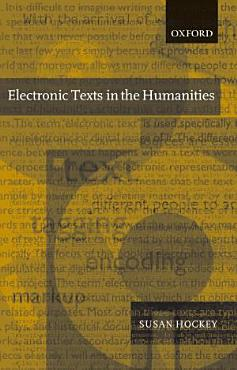 Electronic Texts in the Humanities PDF