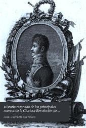 Historia razonada de los principales sucesos de la gloriosa revolución de España: Volumen 2