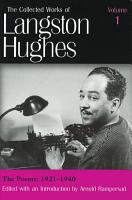 The Collected Works of Langston Hughes  The poems  1921 1940 PDF