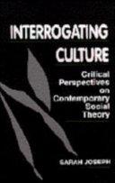 Interrogating Culture