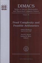 Proof Complexity and Feasible Arithmetics
