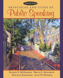 Principles and Types of Public Speaking