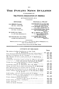 American Potato Journal PDF