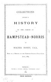 Collections towards a history of the parish of Hampstead-Norris [a paper].