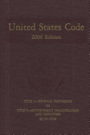 United States Code, 2006, V. 1, Title 1 to Title 5, Section 5949
