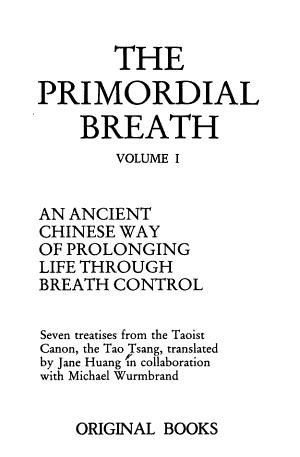 The Primordial Breath