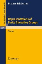 Representations of Finite Chevalley Groups