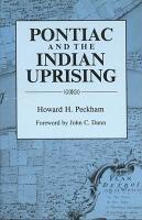 Pontiac and the Indian Uprising PDF