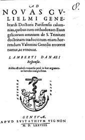 Ad novas G. Genbrardi Calumnias in Responsio