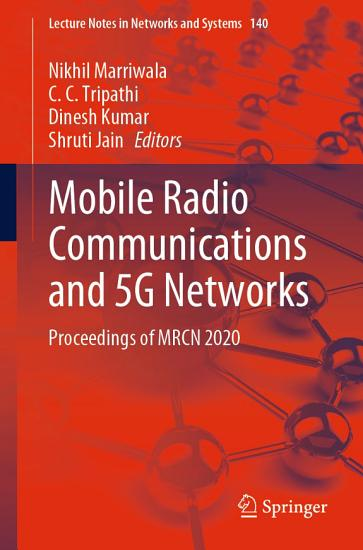 Mobile Radio Communications and 5G Networks PDF