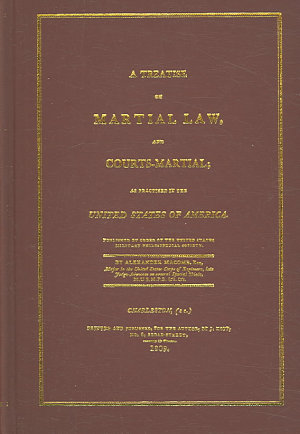 A Treatise on Martial Law and Courts martial PDF