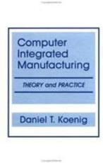 Computer Integrated Manufacturing PDF