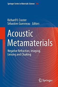 Acoustic Metamaterials PDF