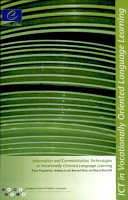 Information and Communication Technologies in Vocationally Oriented Language Learning PDF