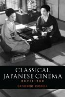 Classical Japanese Cinema Revisited PDF