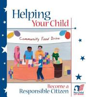 Helping your child become a responsible citizen with activities for elementary  middle and high school aged children  PDF