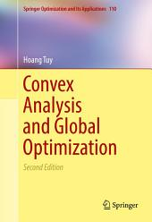 Convex Analysis and Global Optimization: Edition 2