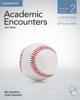 Academic Encounters Level 2 Student s Book Listening and Speaking with DVD PDF