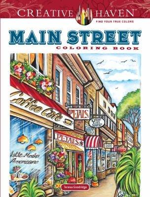 Download Creative Haven Main Street Coloring Book Book