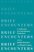 Brief Encounters  A Collection of Contemporary Nonfiction PDF
